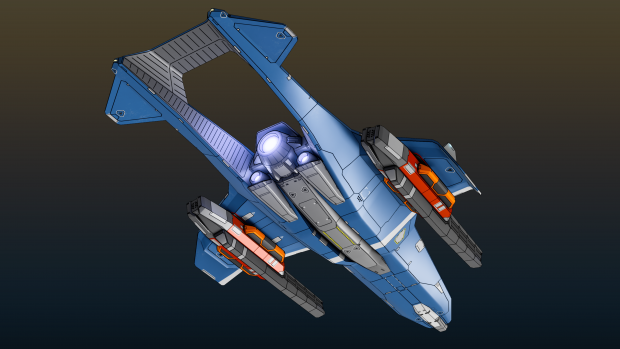 Hiigaran Bomber Concept