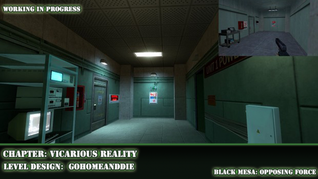 Vicarious reality image black mesa protocol x mod for for Operation black mesa download