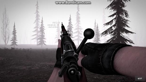 Gewehr 98 Test firing
