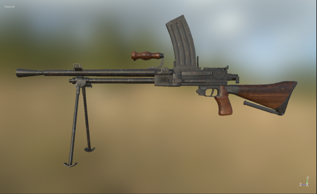 Type 99 Lmg Image War Chronicles The Forgotten War Mod
