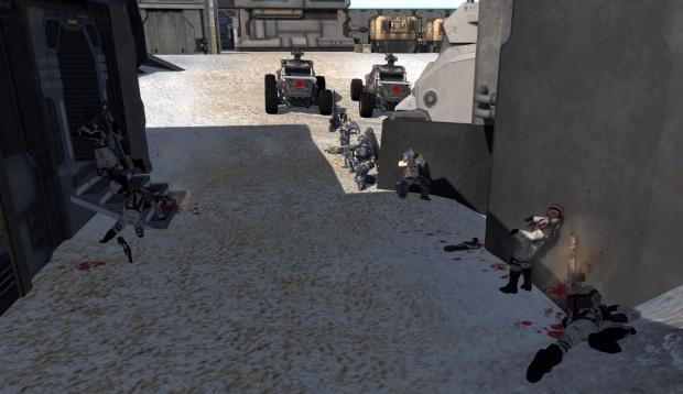 Fort Alpha infiltration