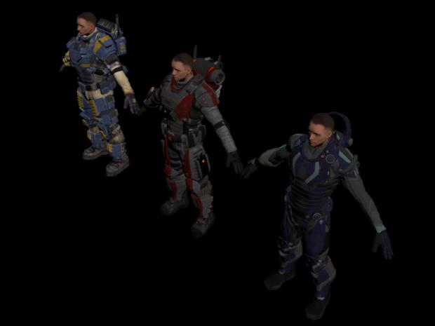 Elite squad armor