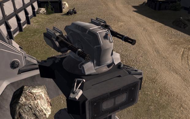 Xiphos anti-infantry turret
