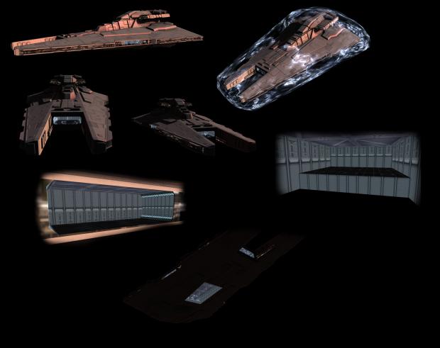 The glorious new Gladiator class-Cruiser
