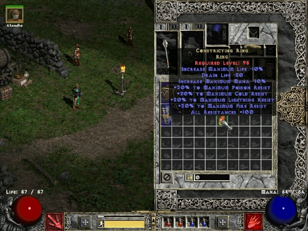 constricting ring image of nephilim mod for diablo