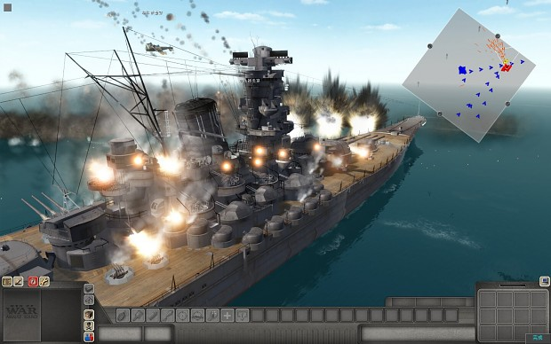 Iowa class battleship BB-61 image - vlss mod for Men of War