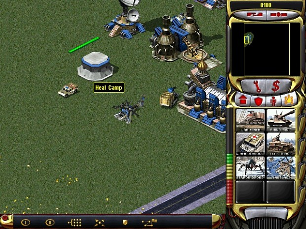 Twinblade and Ambulance (RA2 New Age for War)