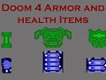 Doom 4 Armor and Health Items