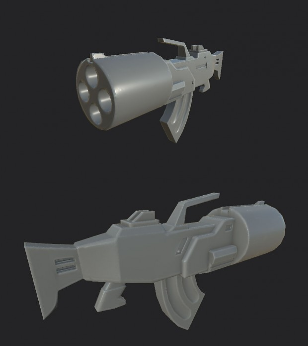 Hyperblaster model for level
