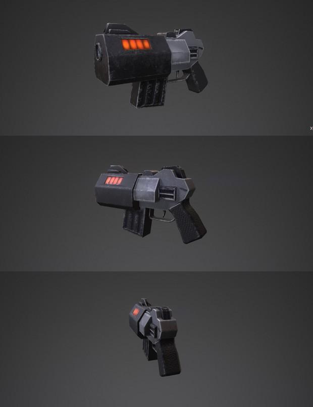 Quake 2 blaster