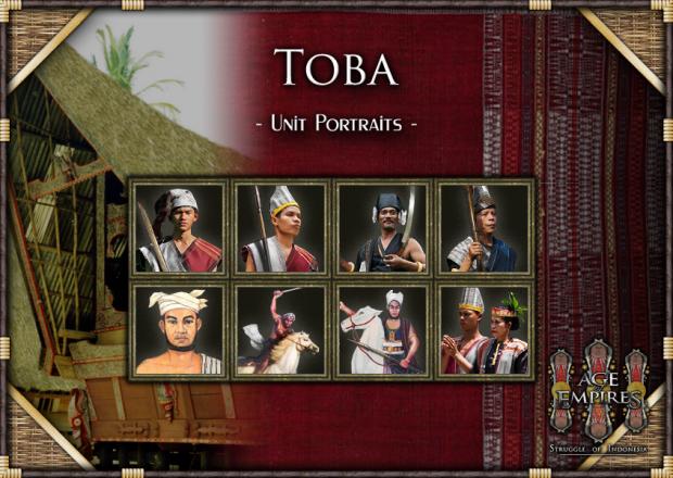 Toba Portraits