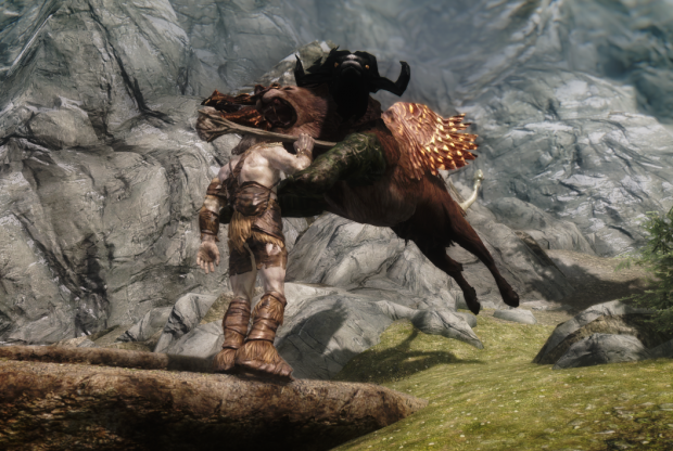 скачать мод beasts of tamriel для skyrim