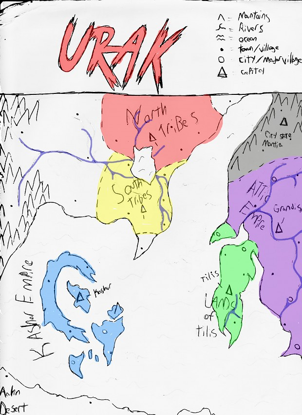 World Map (Sketch)