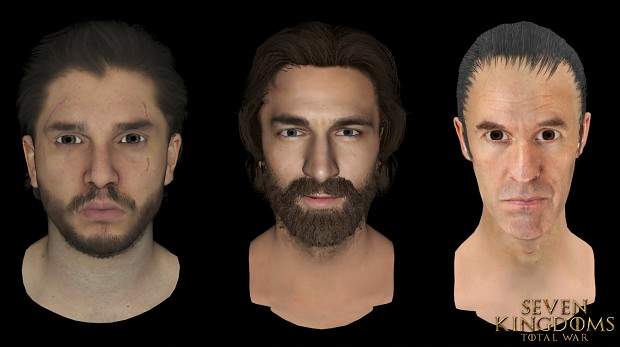 Jon Snow, Daario Naharis, Stannis Baratheon