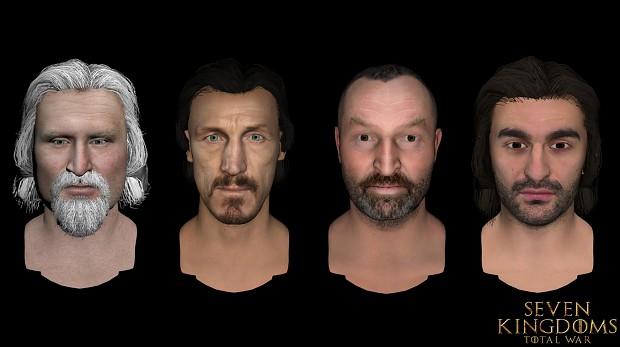 Wyman Manderly, Bronn, Meryn Trant, Vardis Egen