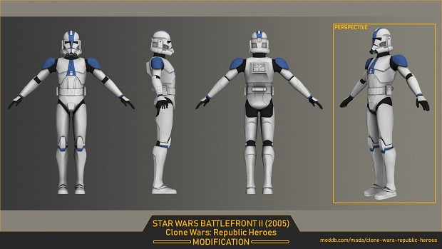 Clone trooper 3d model