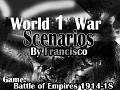 World War I Scenarios-BoE 1914-1918