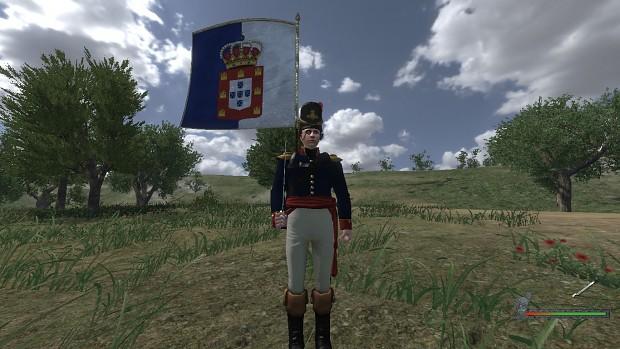 Portuguese Standard Bearer.