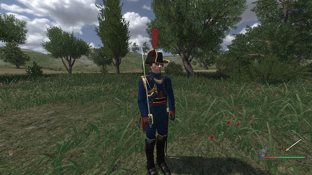 Spanish Artillery Officer, (A return).