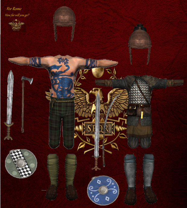 germanic troops version 1