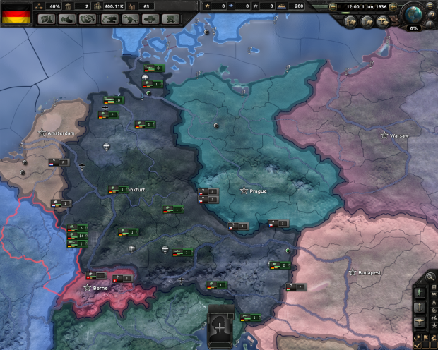 German Order of Battle 1936