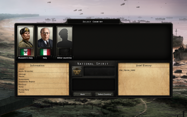 Italian Civil War Bookmark