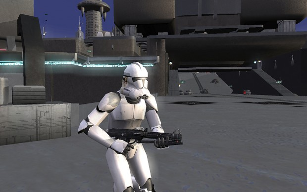 Plain White Clone Troopers