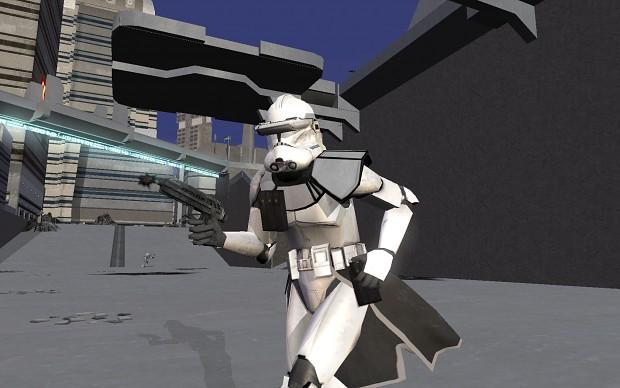 Plain White Clone Troopers
