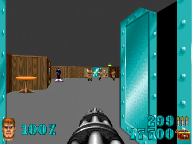 Wolfenstein 3DGE screenshots