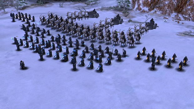 A mighty army of the Ered Luin!