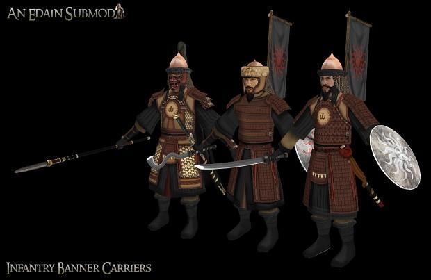 Khand Banner carriers
