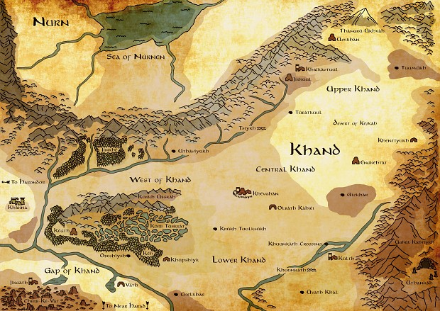 The lands of Khand