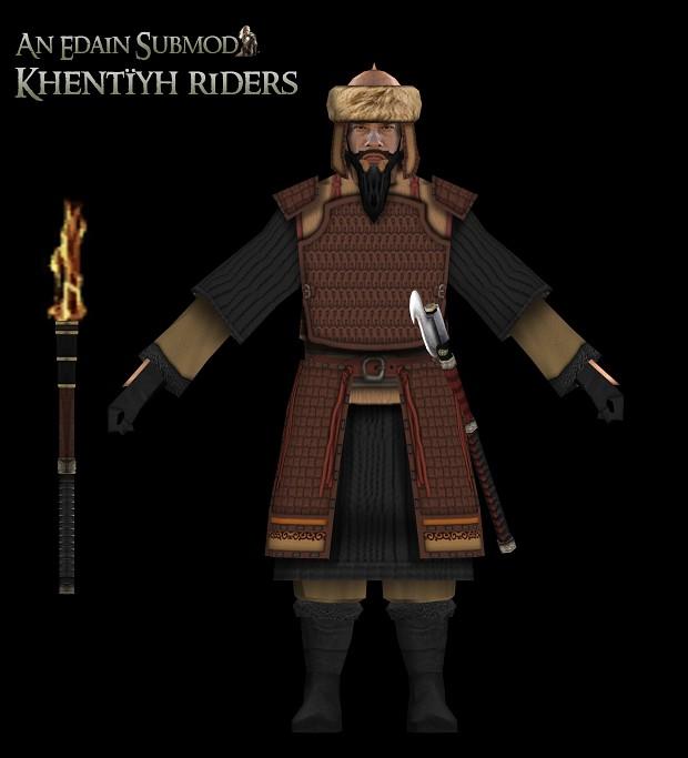 Historical summary : Khentïyh riders