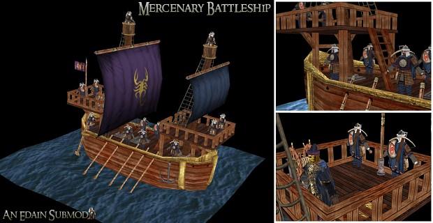 Mercenary Battleship