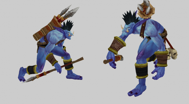 Troll headhunter NEW: finished first step, adding team color