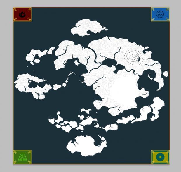 NEW Map corners image - Avatar the Last Airbender TripleA ...