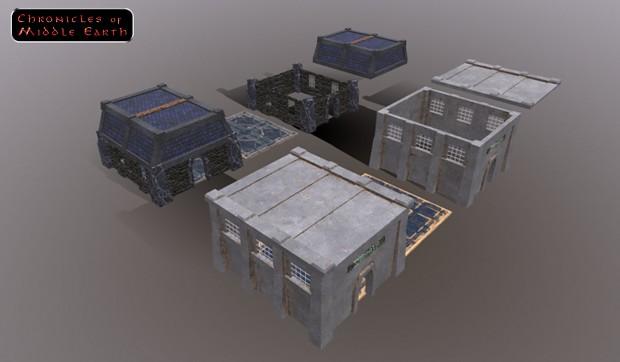 Dwarven Houses