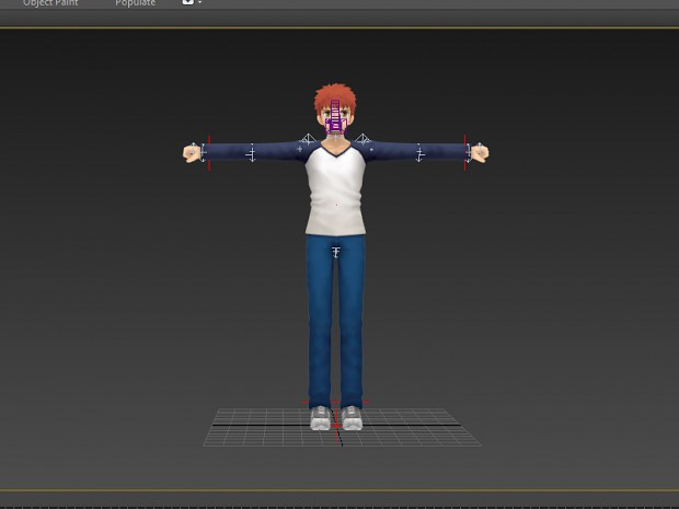 New main character model