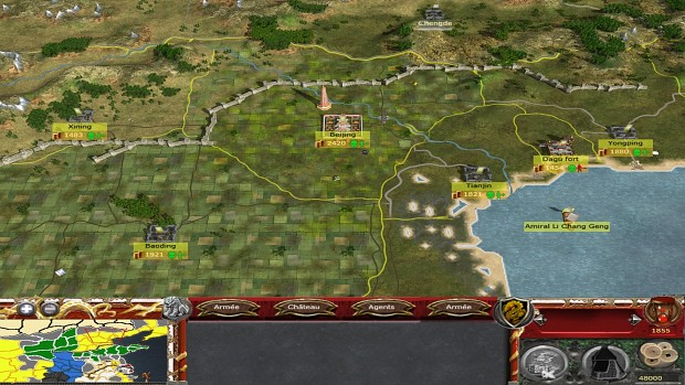 Campaign map