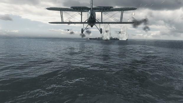 Swordfish score hits on the Bismarck