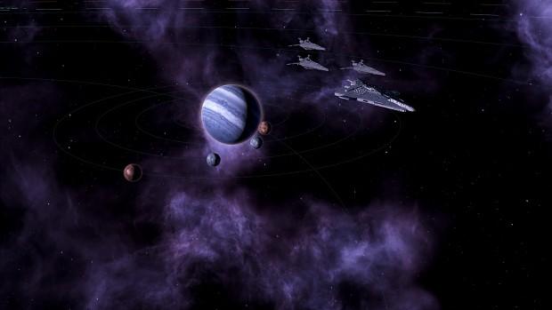 Sith Escorts in the Dromuund system.
