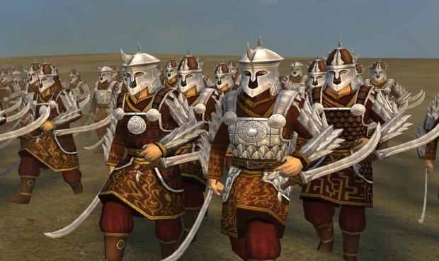Eastron Warrior Armor upgrade