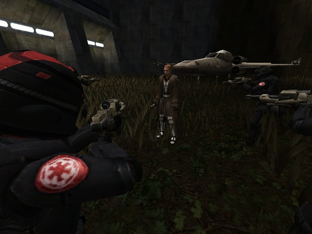 Ambush by imperial sith forces