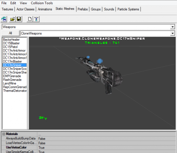 Sitemaps With Embed Option: Ultimate Weapons Mod For Star Wars: Republic