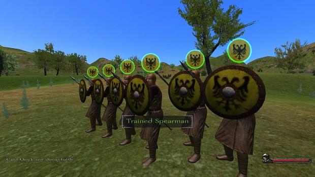 Trained Spearmen