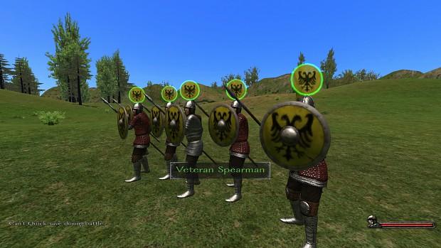 Veteran Spearmen