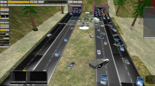 Interstate 85 Traffic Jam - ZeroEditor
