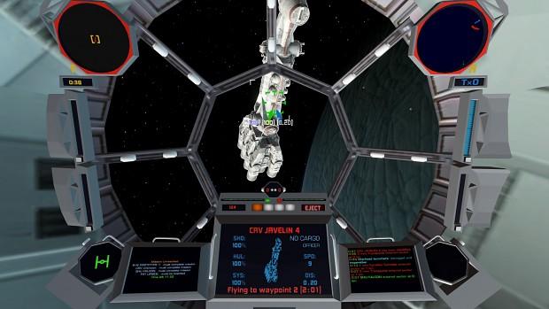 TIE Fighter Cockpit WIP 2