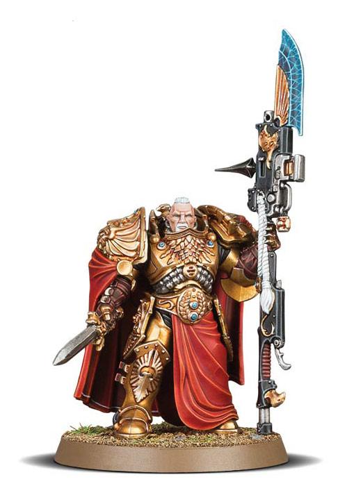 New Unit: Custodian Warden Shield-Captain