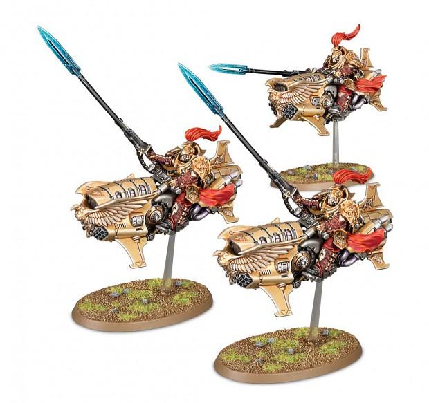 New Unit: Adeptus Custodes Vertus Praetors